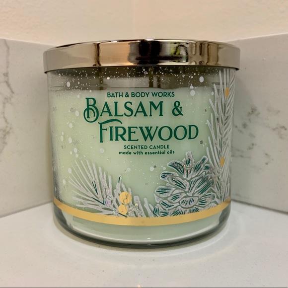B&BW Balsam & Firewood Candle